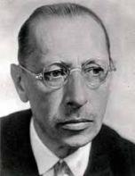 IGOR F. STRAVINSKY